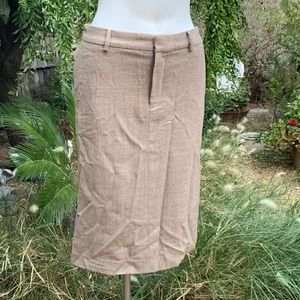 BANANA REPUBLIC Stretch Wool Blend Pencil Skirt 6